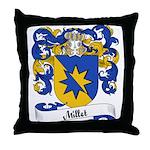 Millet Family Crest Throw Pillow