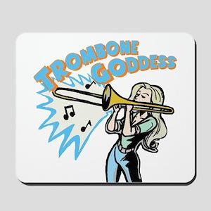 Trombone Goddess Mousepad