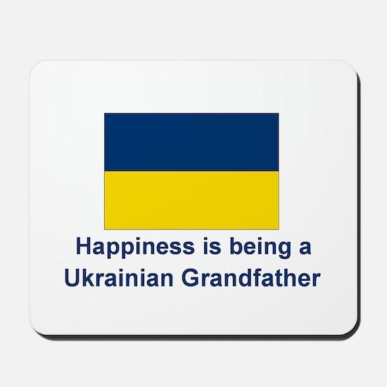 Happy Ukrainian Grandfather Mousepad
