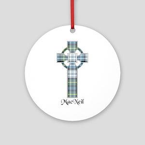 Cross-MacNeil dress Round Ornament