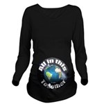 ccTogether Long Sleeve Maternity T-Shirt