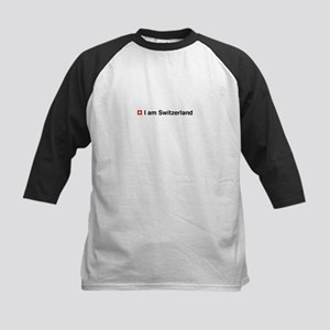 Twilight - I am Switzerland Kids Baseball Jersey