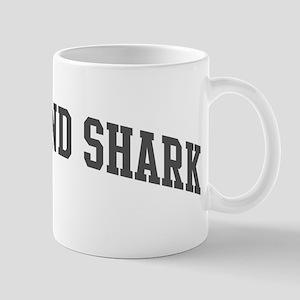 Greenland Shark (curve-grey) Mug