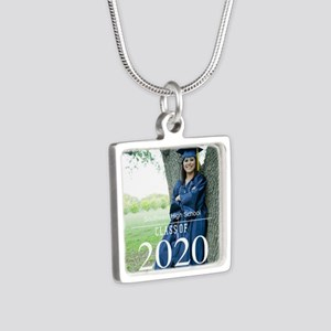 Custom Graduation Photo Class of 2017 Necklaces
