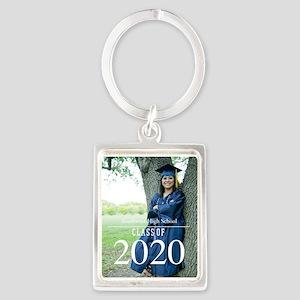 Custom Graduation Photo Class of 2017 Keychains