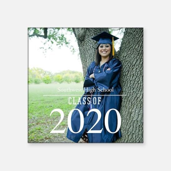 Custom Graduation Photo Class of 2017 Sticker