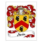 Morin Family Crest Small Poster