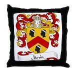 Morin Family Crest Throw Pillow