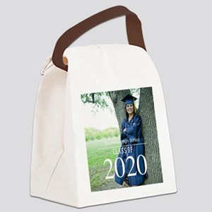 Custom Graduation Photo Class of 2017 Canvas Lunch