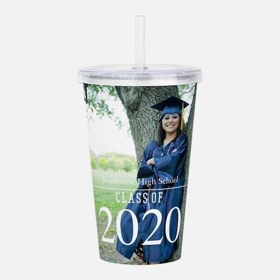 Custom Graduation Photo Class of 2017 Acrylic Doub