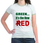 Green is Red Jr. Ringer T-Shirt