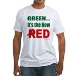 Green is Red Fitted T-Shirt