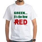 Green is Red White T-Shirt