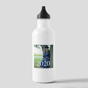 Custom Graduation Photo Class of 2017 Water Bottle