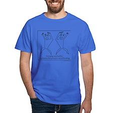 Exhilarating Precipice Dark T-Shirt