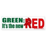 Green is Red Bumper Sticker