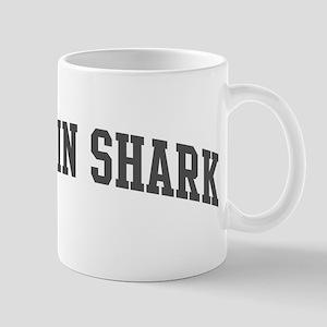 Goblin Shark (curve-grey) Mug