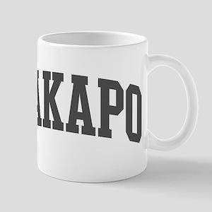 Kakapo (curve-grey) Mug