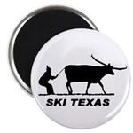 "Ski Texas 2.25"" Magnet (10 pack)"