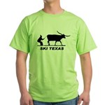 Ski Texas Green T-Shirt