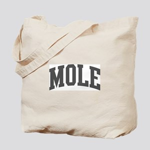Mole (curve-grey) Tote Bag