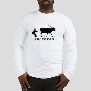 Ski Texas Long Sleeve T-Shirt