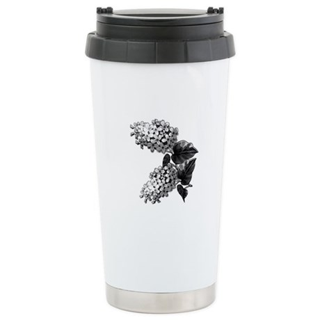 Lilacs Stainless Steel Travel Mug