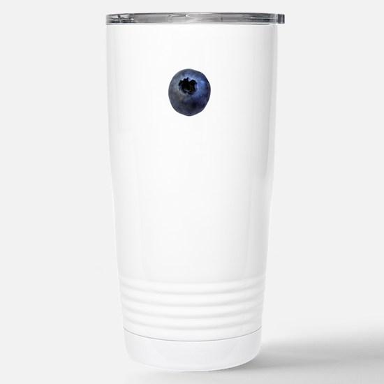 Blueberry Stainless Steel Travel Mug
