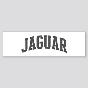 Jaguar (curve-grey) Bumper Sticker