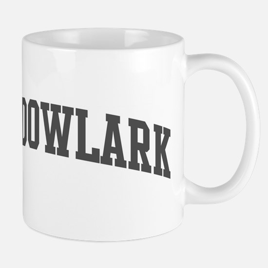 Meadowlark (curve-grey) Mug