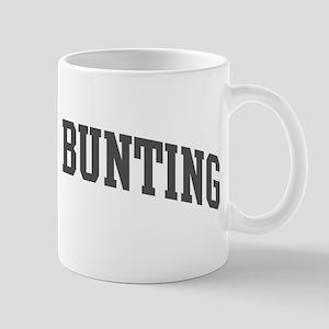 Indigo Bunting (curve-grey) Mug