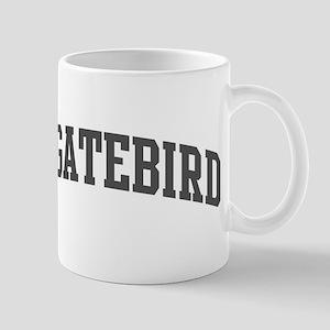 Frigatebird (curve-grey) Mug