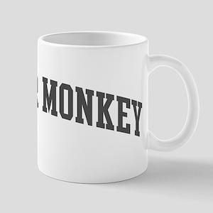 Howler Monkey (curve-grey) Mug