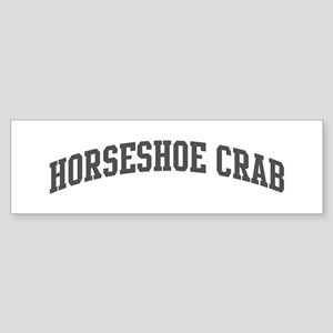 Horseshoe Crab (curve-grey) Bumper Sticker