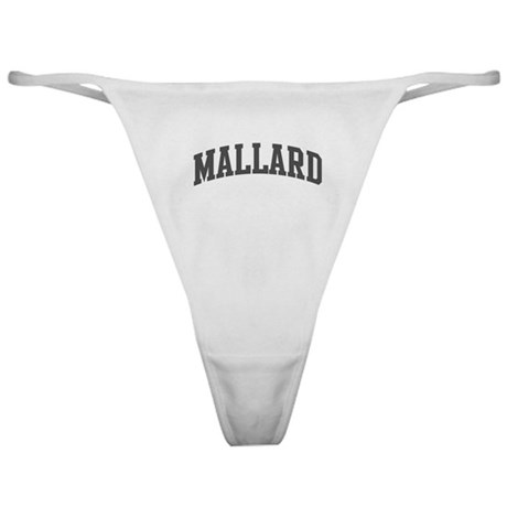 Mallard (curve-grey) Classic Thong