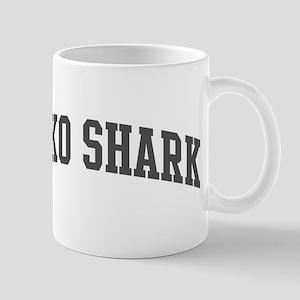Mako Shark (curve-grey) Mug