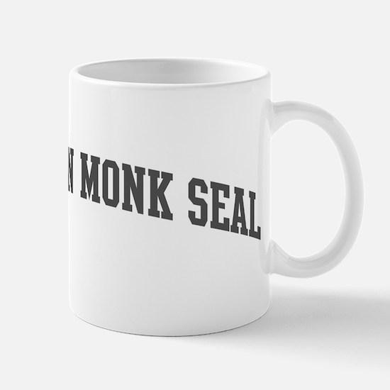 Hawaiian Monk Seal (curve-gre Mug