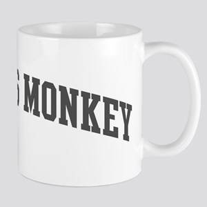 Proboscis Monkey (curve-grey) Mug