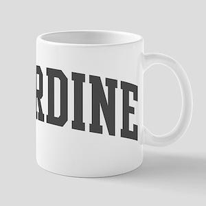 Sardine (curve-grey) Mug