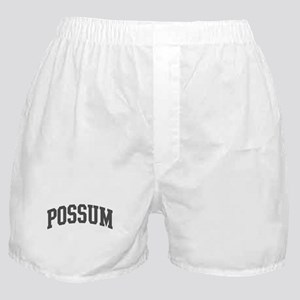 Possum (curve-grey) Boxer Shorts