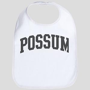 Possum (curve-grey) Bib
