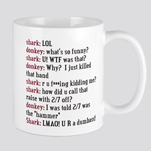 Online Poker Chat Mug