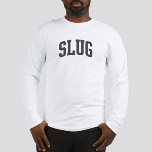 Slug (curve-grey) Long Sleeve T-Shirt