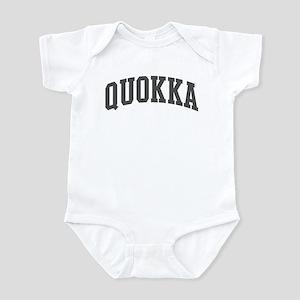 Quokka (curve-grey) Infant Bodysuit