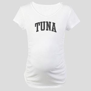 Tuna (curve-grey) Maternity T-Shirt