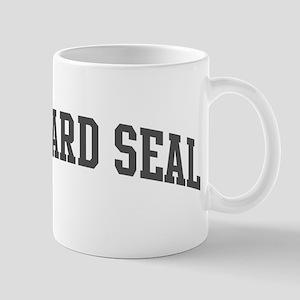 Leopard Seal (curve-grey) Mug
