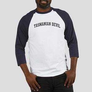 Tasmanian Devil (curve-grey) Baseball Jersey