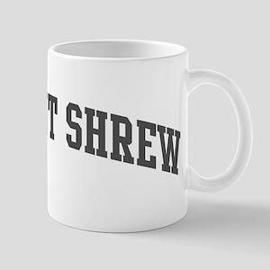 Elephant Shrew (curve-grey) Mug