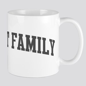 Civet Family (curve-grey) Mug