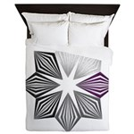 Demisexual Pride Starburst Queen Duvet